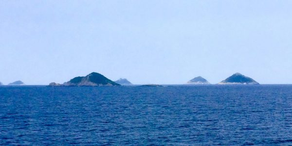 The ferry ride to Jeju Island