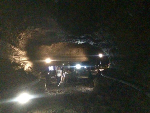 More Lava cave action
