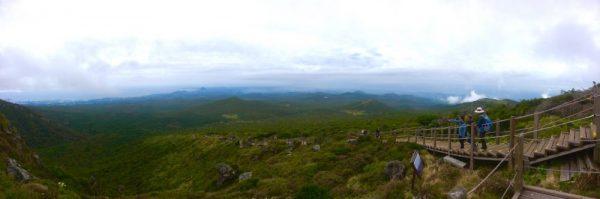 High up on Mt. Hallasan, Jeju Island
