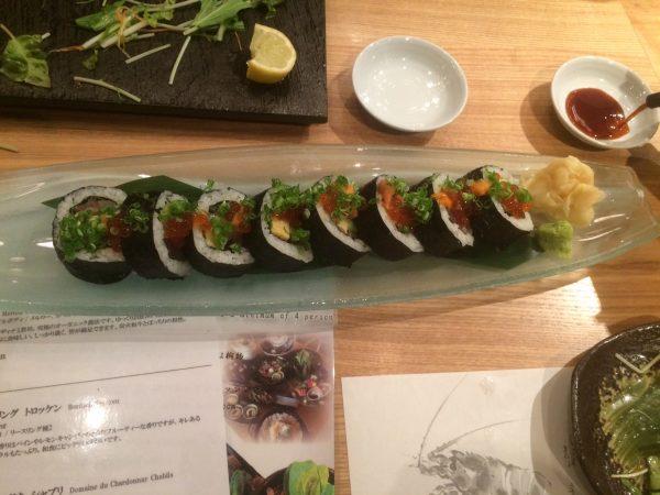 japanese sushi!