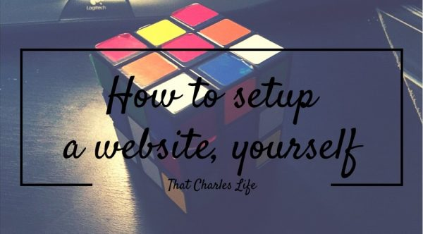 how to setup a website