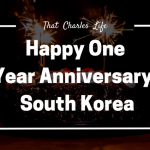 One Thought From My One Year Anniversary in South Korea