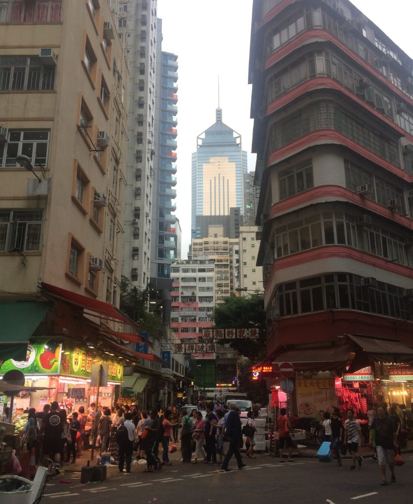 Downtown Hong Kong