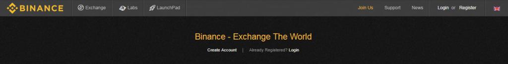 binance buy bitcoin