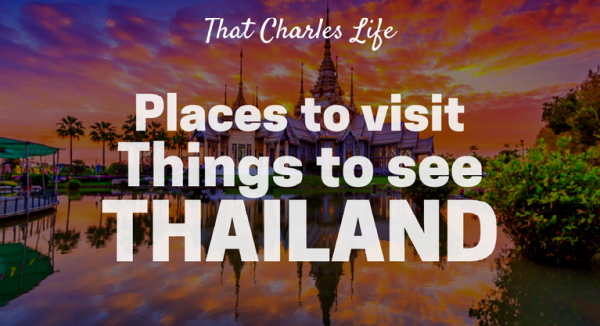 things to see in thailand