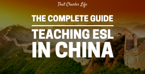 teaching esl in china