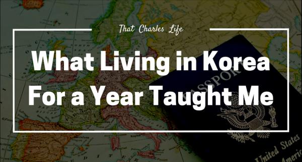 living in korea