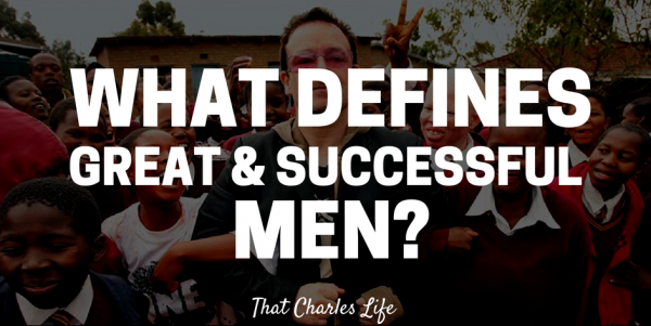 great and successful men